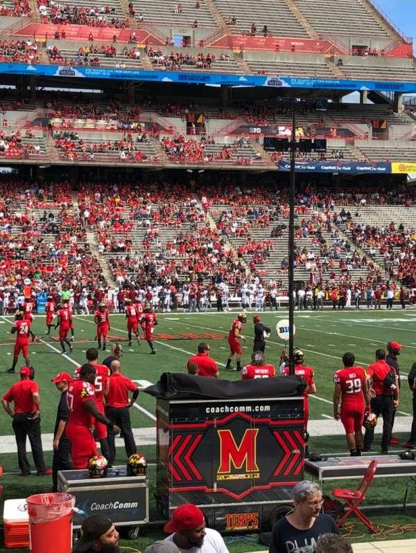 Maryland Stadium, secção: 24, fila: J, lugar: 29