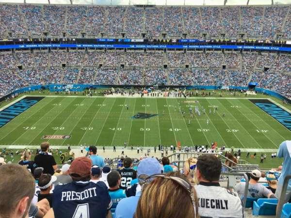 Bank Of America Stadium , secção: 515, fila: 11, lugar: 1