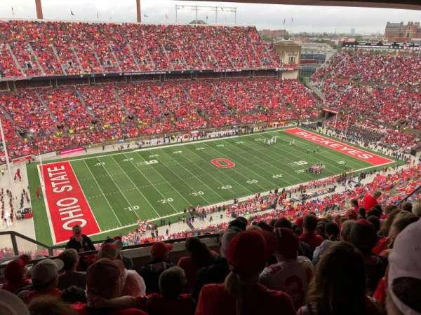 Ohio Stadium, secção: 15D, fila: 11, lugar: 6