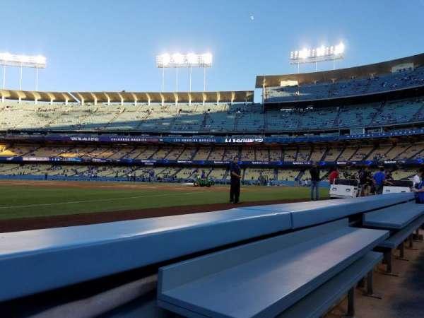 Dodger Stadium, secção: 37BL, fila: 1, lugar: 1
