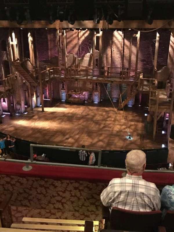 Richard Rodgers Theatre, secção: Front Mezzanine R, fila: D, lugar: 2