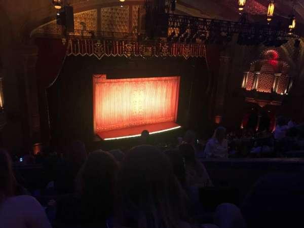 Fox Theatre (Atlanta), secção: Dress Circle Left B, fila: E, lugar: 27