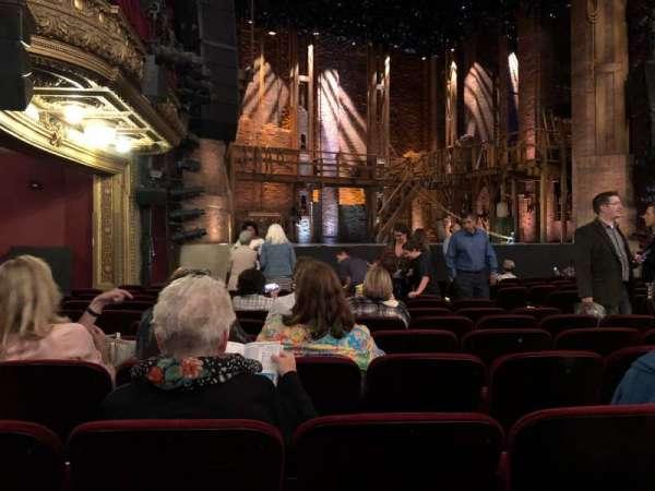 CIBC Theatre, secção: Orchestra L, fila: N, lugar: 15