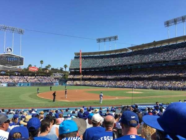 Dodger Stadium, secção: 29FD, fila: M, lugar: 2