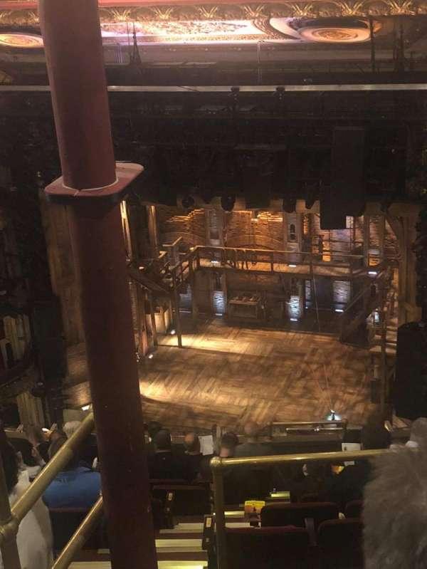 CIBC Theatre, secção: Balcony R, fila: L, lugar: 2