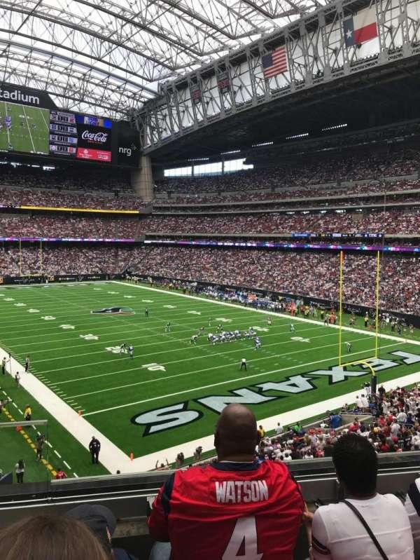 NRG Stadium, secção: 355, fila: C, lugar: 11