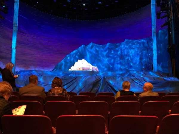 5th Avenue Theatre, secção: Orchestra center, fila: E