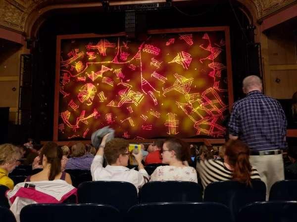 Murat Theatre at Old National Centre, secção: Orchestra C, fila: S, lugar: 17