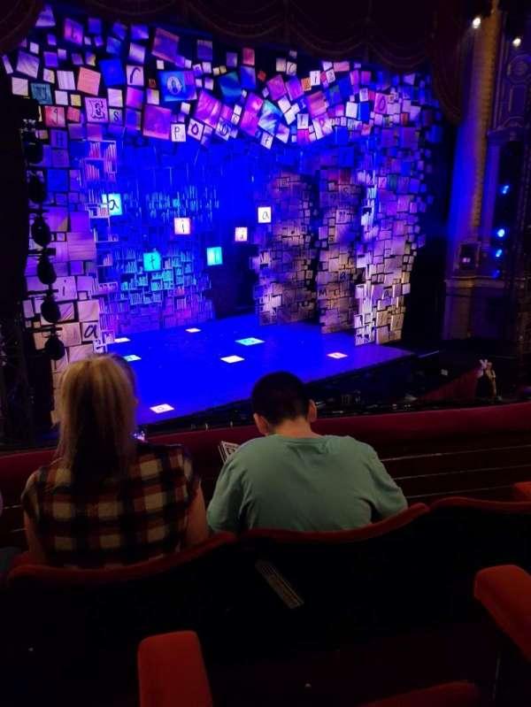 Palace Theatre (Manchester), secção: Circle, fila: C, lugar: 40