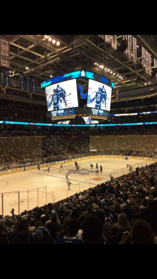 Scotiabank Arena, secção: 111, fila: 24, lugar: 4