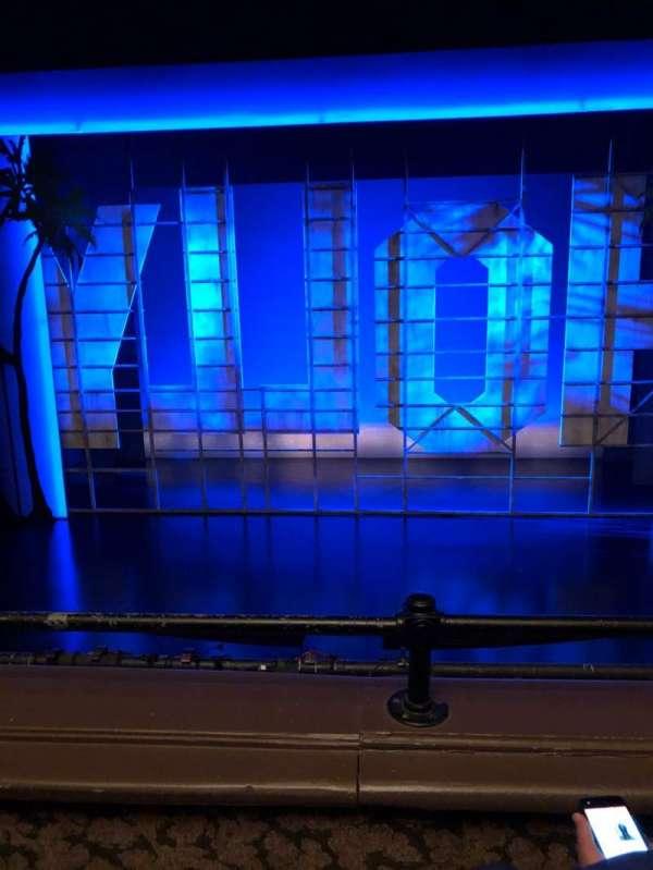 Nederlander Theatre, secção: Mezzanine C, fila: B, lugar: 106