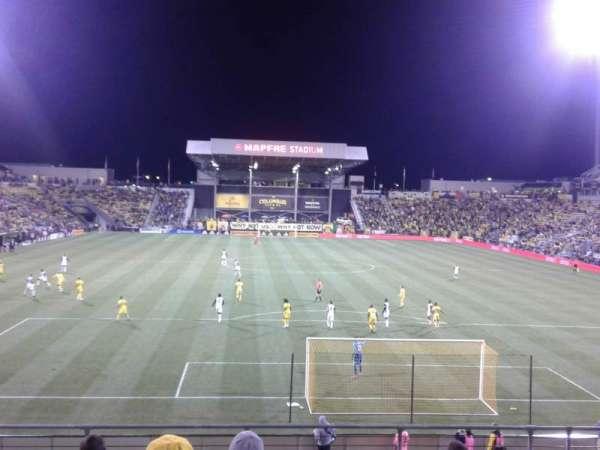 Mapfre Stadium, secção: 116