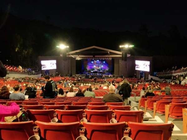 The Greek Theatre, secção: C, fila: L, lugar: 134