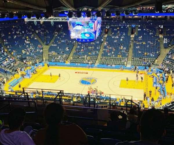 Oakland Arena, secção: 231, fila: 16, lugar: 13