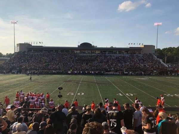 Waldo Stadium, secção: D, fila: 5, lugar: 20