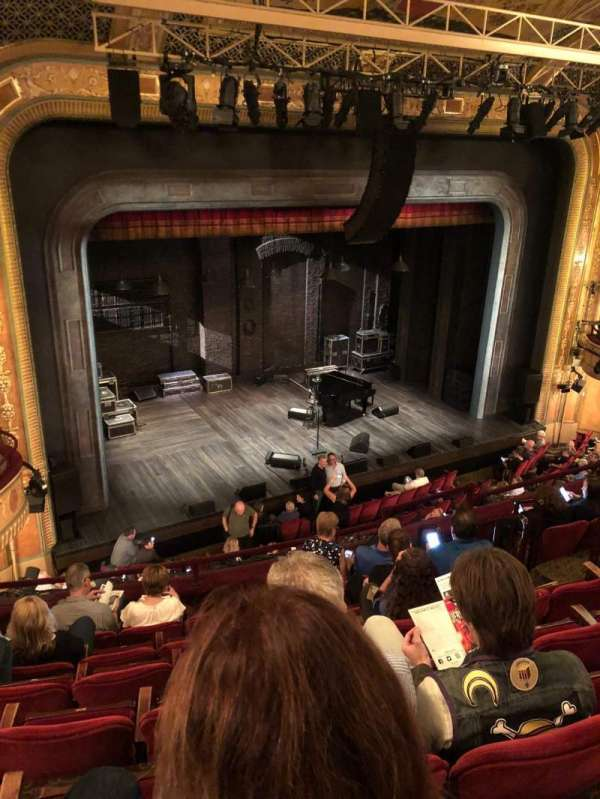 Walter Kerr Theatre, secção: Mezzanine left, fila: G, lugar: 15