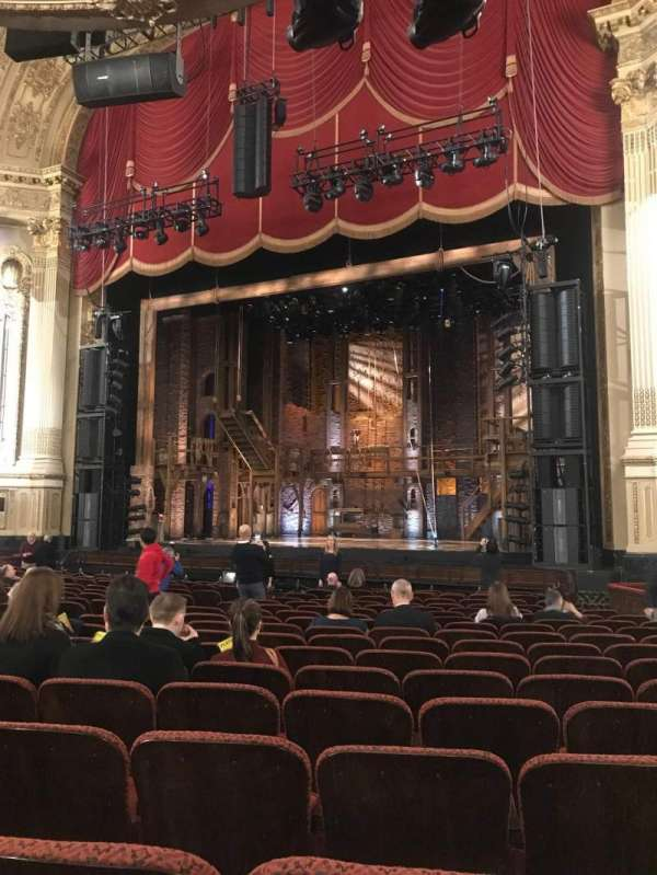Citizens Bank Opera House, secção: Orchestra RC, fila: N, lugar: 22