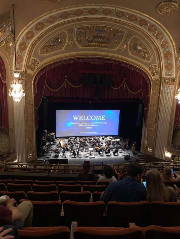 Orpheum Theatre (Memphis), secção: Balcony, fila: G, lugar: 204