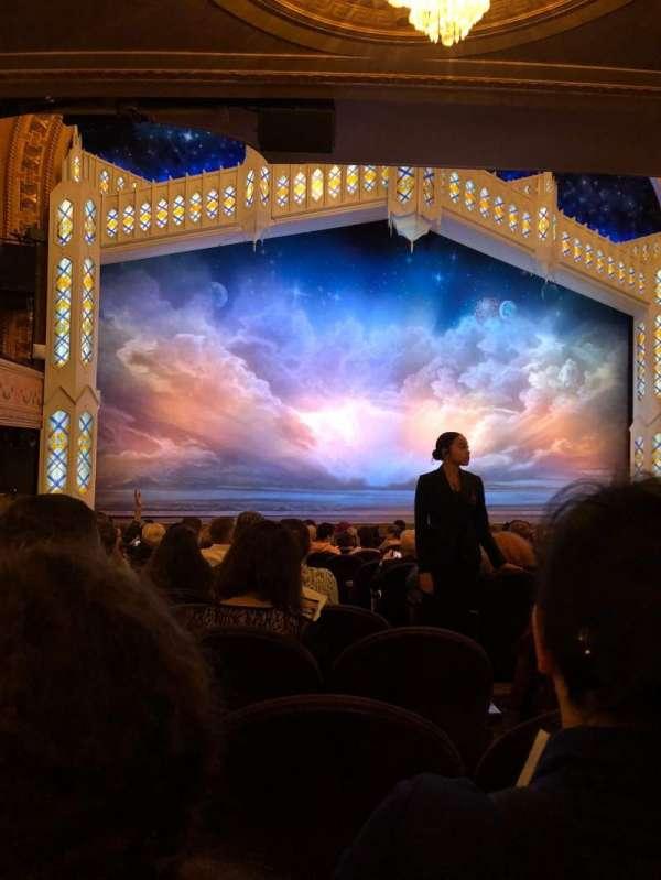 Eugene O'Neill Theatre, secção: Orchestra L, fila: P, lugar: 5