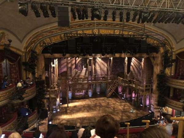 Richard Rodgers Theatre, secção: Front Mezzanine L, fila: F, lugar: 1