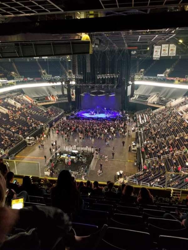 PHX Arena, secção: 210, fila: 12, lugar: 5