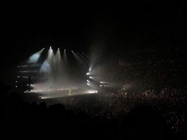 Bridgestone Arena, secção: 116, fila: A, lugar: 19