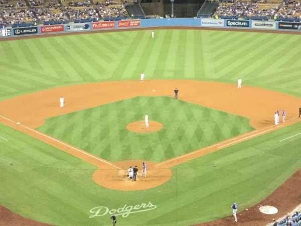 Dodger Stadium, secção: 2RS, fila: P, lugar: 4