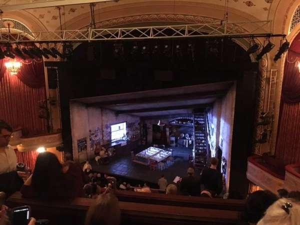 Bernard B. Jacobs Theatre, secção: Mezzanine R, fila: G, lugar: 10