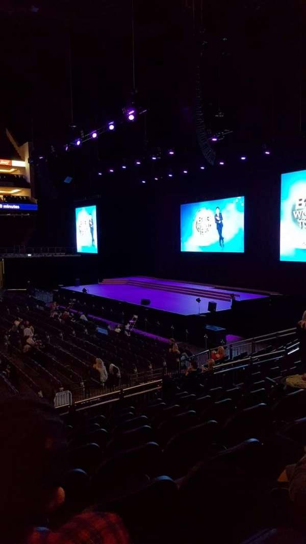 The O2 Arena, secção: 112, fila: Q, lugar: 370