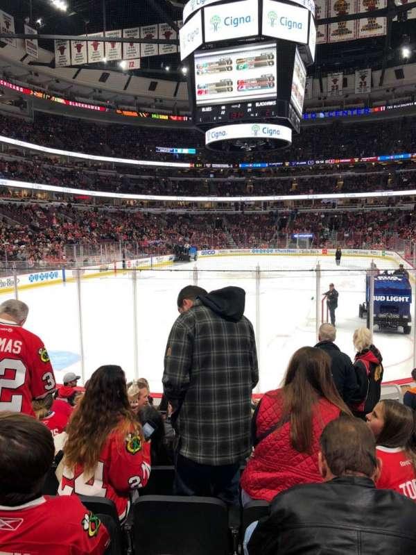 United Center, secção: 104, fila: 8, lugar: 6