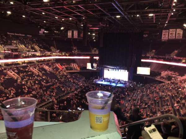 Talking Stick Resort Arena, secção: 209, fila: 6, lugar: 3
