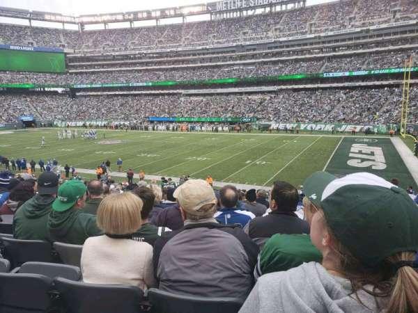 MetLife Stadium, secção: 134, fila: 26, lugar: 12