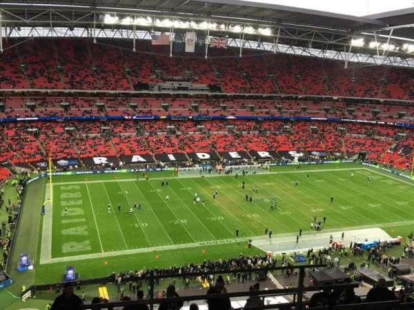 Wembley Stadium , secção: 504, fila: 17, lugar: 107