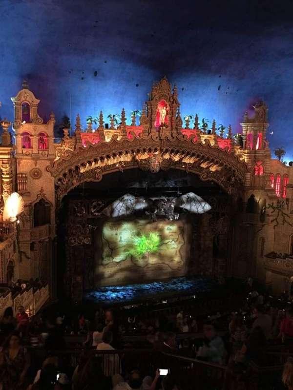 Majestic Theatre - San Antonio, secção: mezzanine lc, fila: HH, lugar: 14