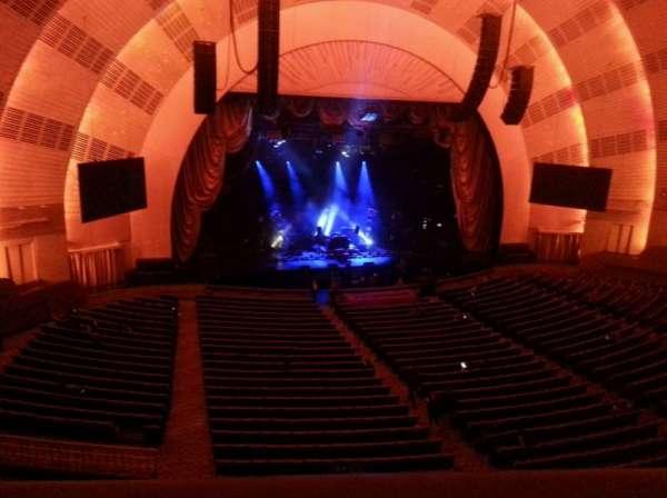 Radio City Music Hall, secção: 2nd Mezzanine 6, fila: A, lugar: 603