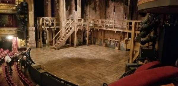 Richard Rodgers Theatre, secção: Box D, fila: 1, lugar: 3