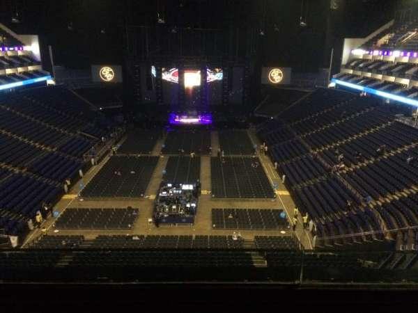 The O2 Arena, secção: 412, fila: B, lugar: 728