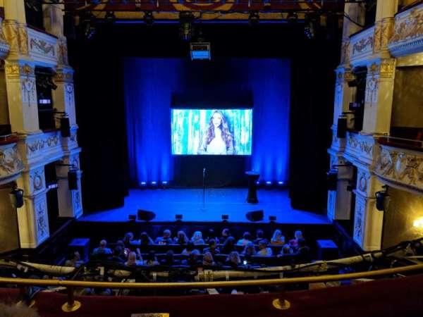 Garrick Theatre, secção: Dress Circle, fila: B, lugar: 13