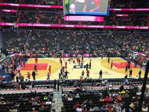 Capital One Arena, secção: 214, fila: A, lugar: 16
