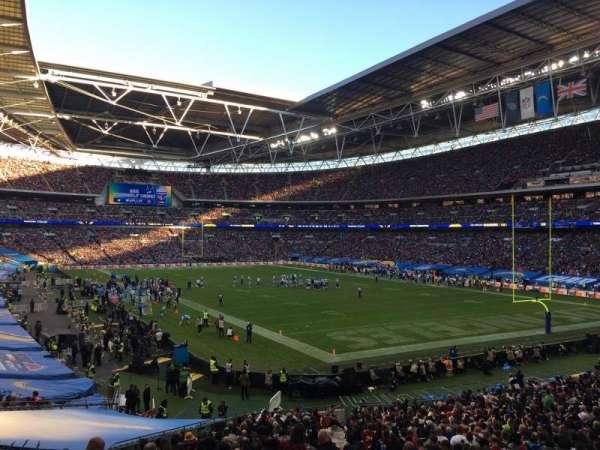 Wembley Stadium, secção: 137, fila: 41, lugar: 110