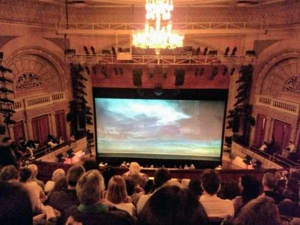 Ethel Barrymore Theatre, secção: Center Rear Mezzanine, fila: F, lugar: 107and108