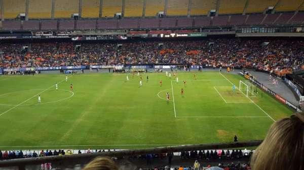 RFK Stadium, secção: 443, fila: 3, lugar: 2