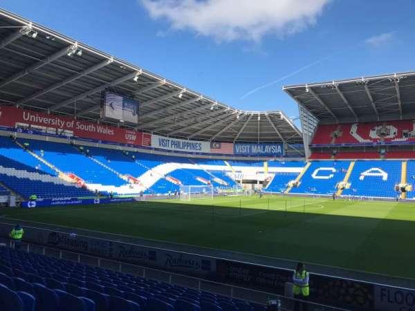 Cardiff City Stadium, secção: 206, fila: L, lugar: 351