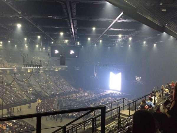 AccorHotels Arena, secção: Balcon D, fila: 88