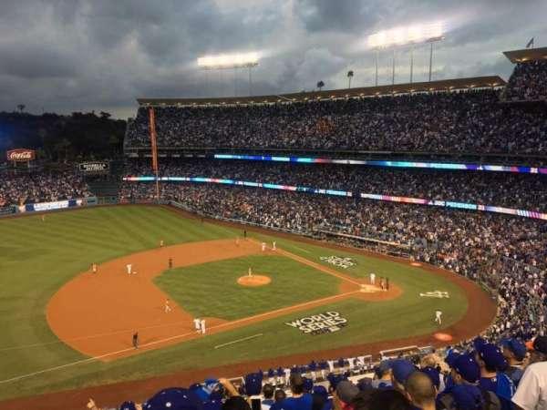 Dodger Stadium, secção: 23RS, fila: K, lugar: 17