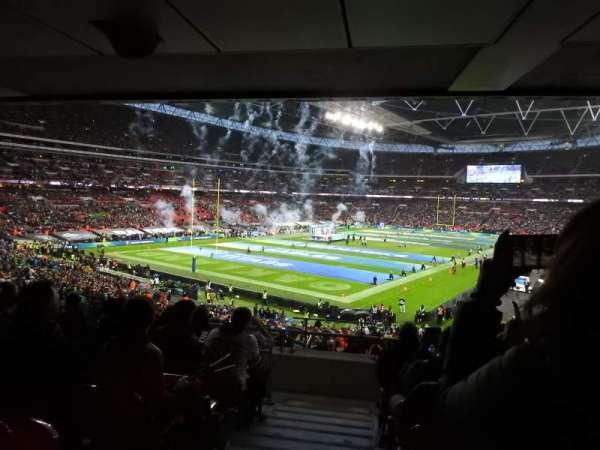 Wembley Stadium, secção: 130, fila: 44, lugar: 218