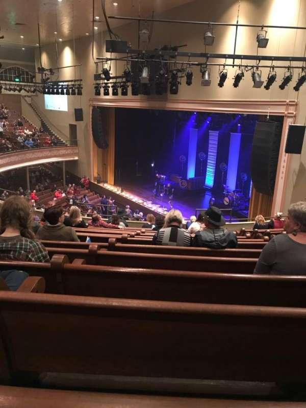 Ryman Auditorium, secção: 10, fila: N, lugar: 5