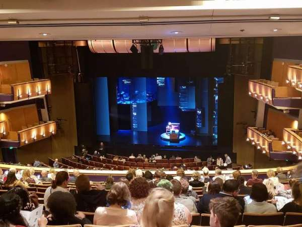 Ahmanson Theatre, secção: Mezz, fila: N, lugar: 4