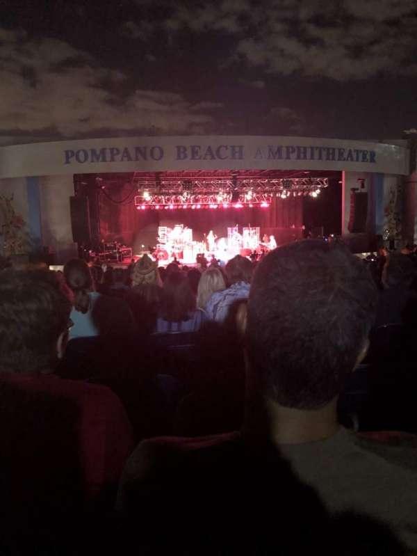 Pompano Beach Amphitheater, secção: B, fila: 24, lugar: 40