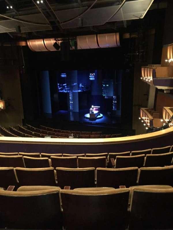 Ahmanson Theatre, secção: Mezzanine, fila: F, lugar: 5